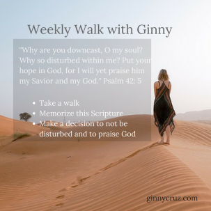 Weekly Walk with Ginny